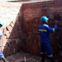 Mbano-Construction-Jan-2019-private-courtyard-with-stone-walls