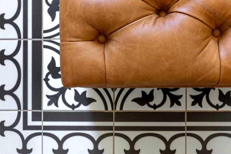 Mbano Manor Hotel bathroom tiles